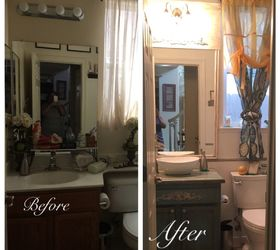 Guest Bath Remodel For Under 500, Bathroom Ideas, Home Improvement, From  Drab To