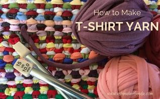 how to make t shirt yarn, how to