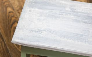 how to create a faux concrete finish on furniture, concrete masonry, how to, painted furniture