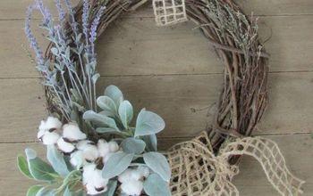 Easy DIY Spring Wreath