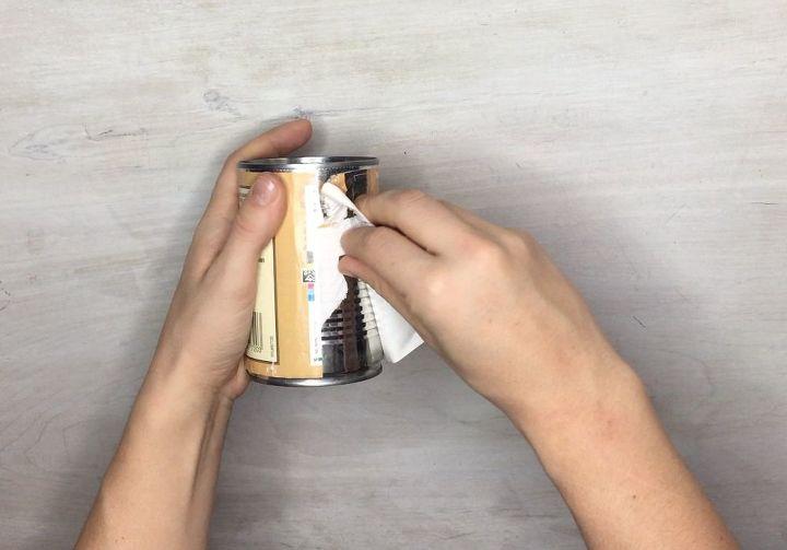 tin can lanterns, outdoor living