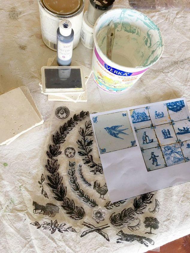 French Antiquity Tile Backsplash on a Home Depot Budget | Hometalk