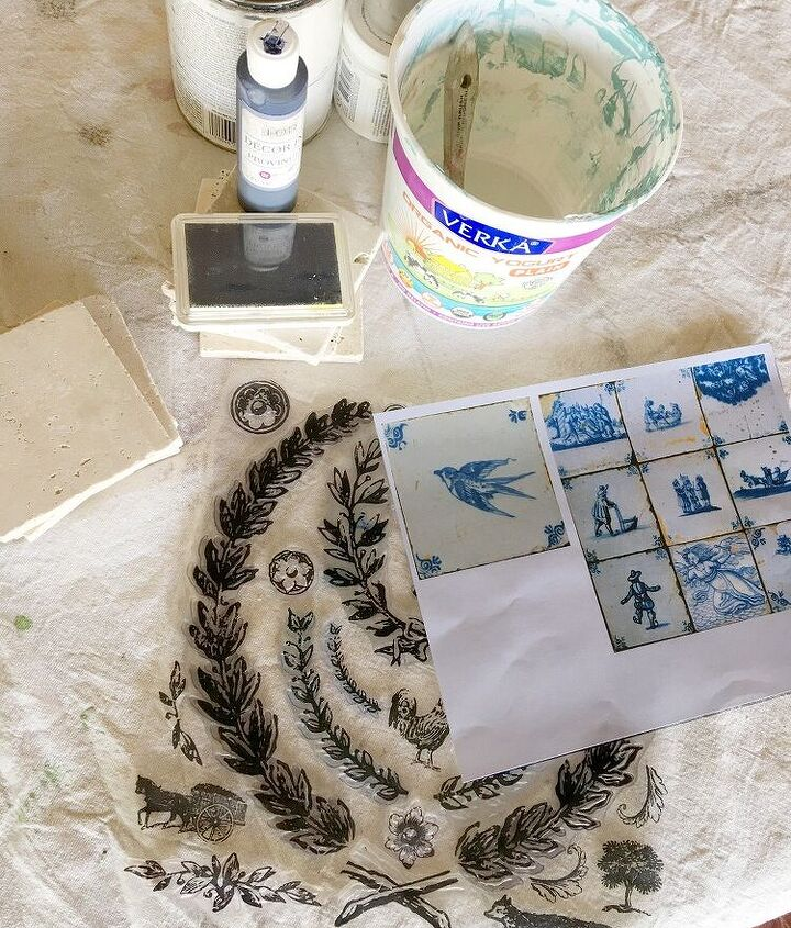 french antiquity tile backsplash on a home depot budget, home decor, kitchen backsplash, kitchen design