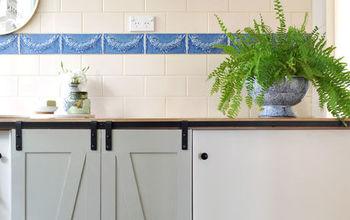 DIY Mini Barn Doors