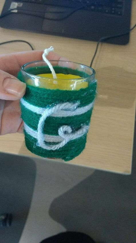 e crafternoons have you ever made a string wrapped candle holder