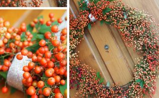 a diy wreath from the garden, crafts, wreaths