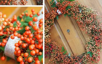 A DIY Wreath From the Garden