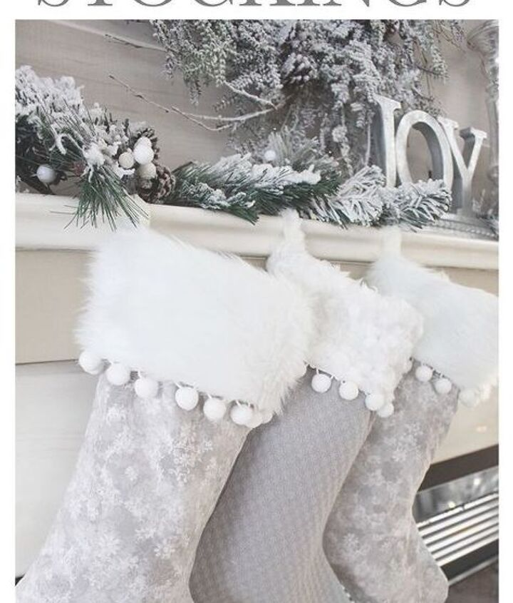 how to make your own christmas stockings, how to
