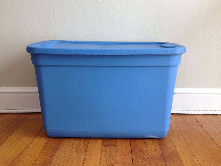 storage bin to toy box, composting, go green, storage ideas