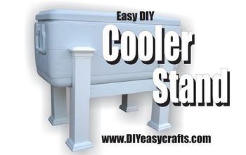 easy diy cooler stand