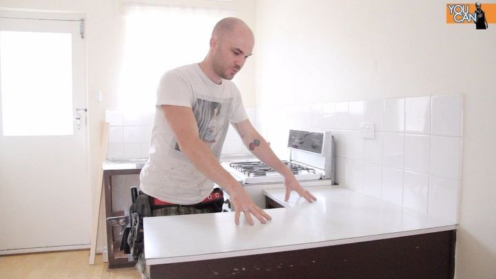 Install A Kitchen Countertop Without Removing The Old One Countertops Design