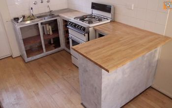 Install A Kitchen Countertop (Without Removing The Old One)