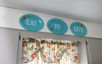 Kitchen Wall Decor From $ Store Plastic Plates