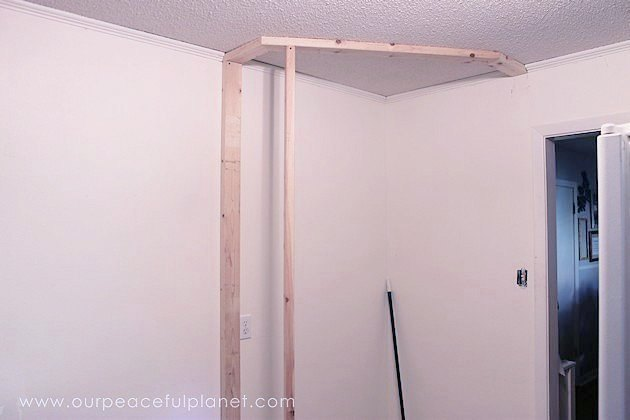 Diy corner pantry hometalk diy corner pantry closet the framing begins solutioingenieria Image collections