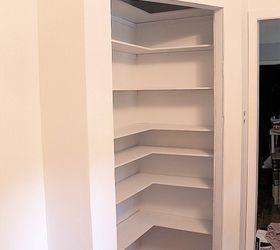 Attractive Diy Corner Pantry, Closet