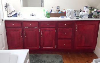 Bathroom Vanity Update