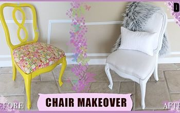 DIY Thrift Chair Upholstery Makeover | $3.00