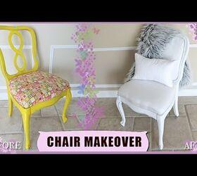 Diy Thrift Chair Upholstery Makeover 3 00 Hometalk