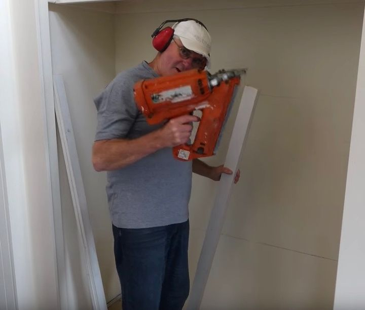 building closet wardrobe shelves, closet, shelving ideas, Open Space