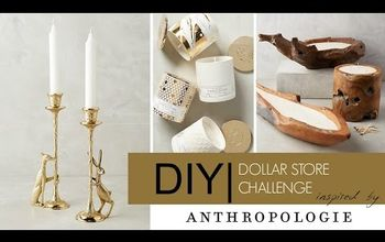 diy dollar store challenge inspired by anthropologie