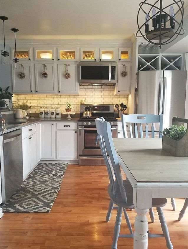 How to Install Kitchen Cabinet Lighting | Hometalk How Long To Install Kitchen Cabinets on corner to install kitchen cabinets, how design kitchen cabinets, install toe kick cabinets, installing wall cabinets, applying crown molding to cabinets, installing corner cabinets, install crown molding kitchen cabinets,