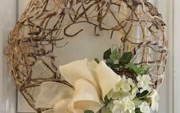 you ll be saving scrap pieces of twine for this spring wreath, crafts, wreaths
