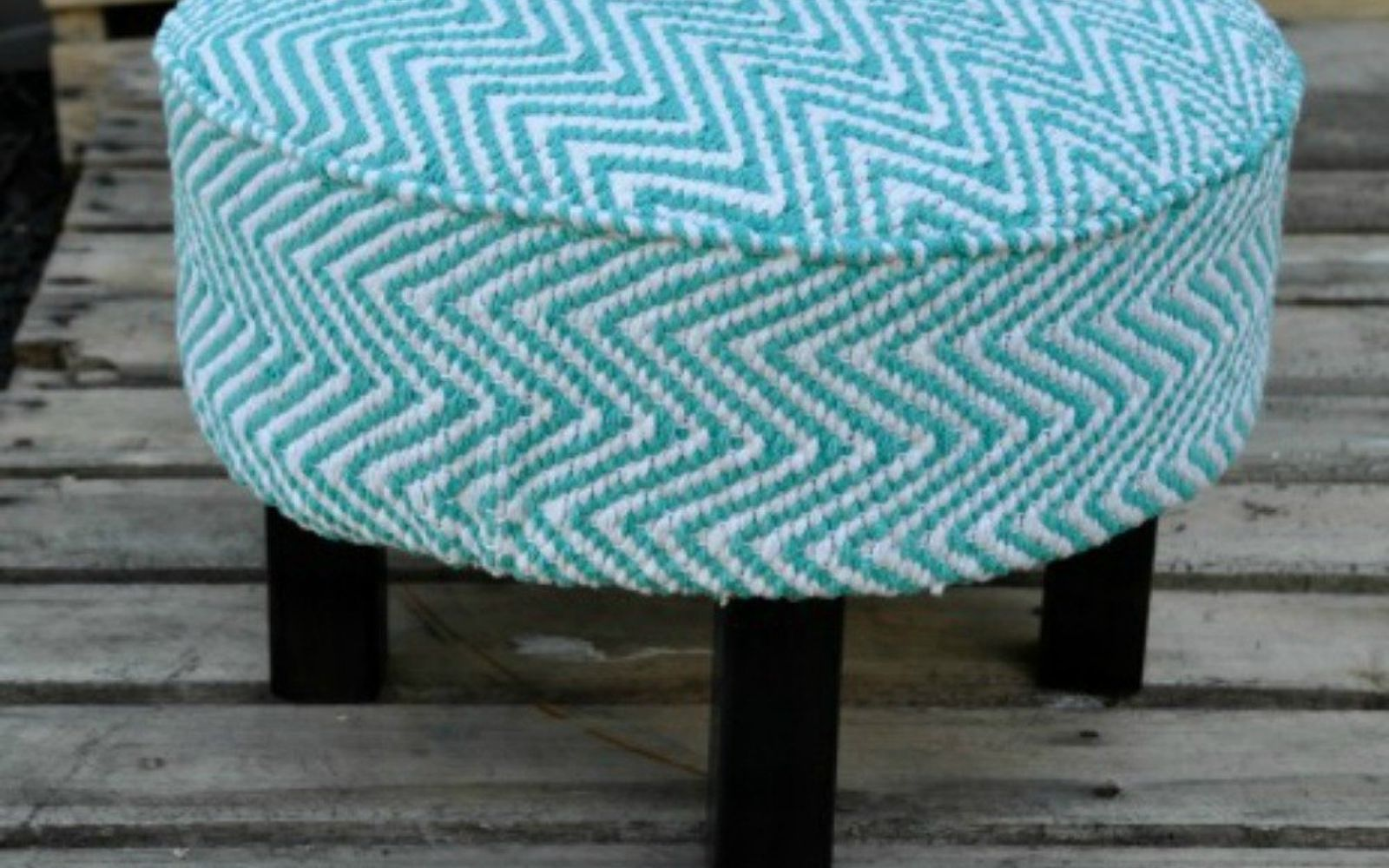 s 12 gorgeous ottoman ideas that will make you want to put your feet up, painted furniture, Build an ottoman from scratch with wood