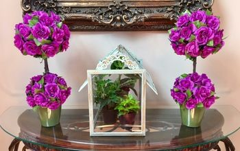 DIY Spring Topiary: Elegance & Color, Bring Life Into a Room!