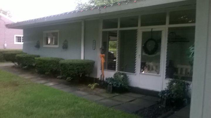 q help with exterior home sofit facia and widow frames, home decor