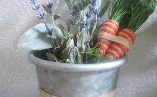 diy spring flower pots, gardening, Finished product