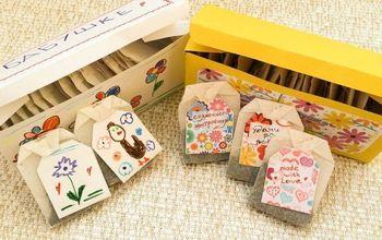 diy tea box and tea tags