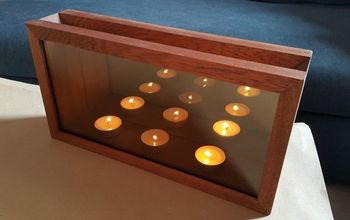 Infinity Mirror Candle Holders