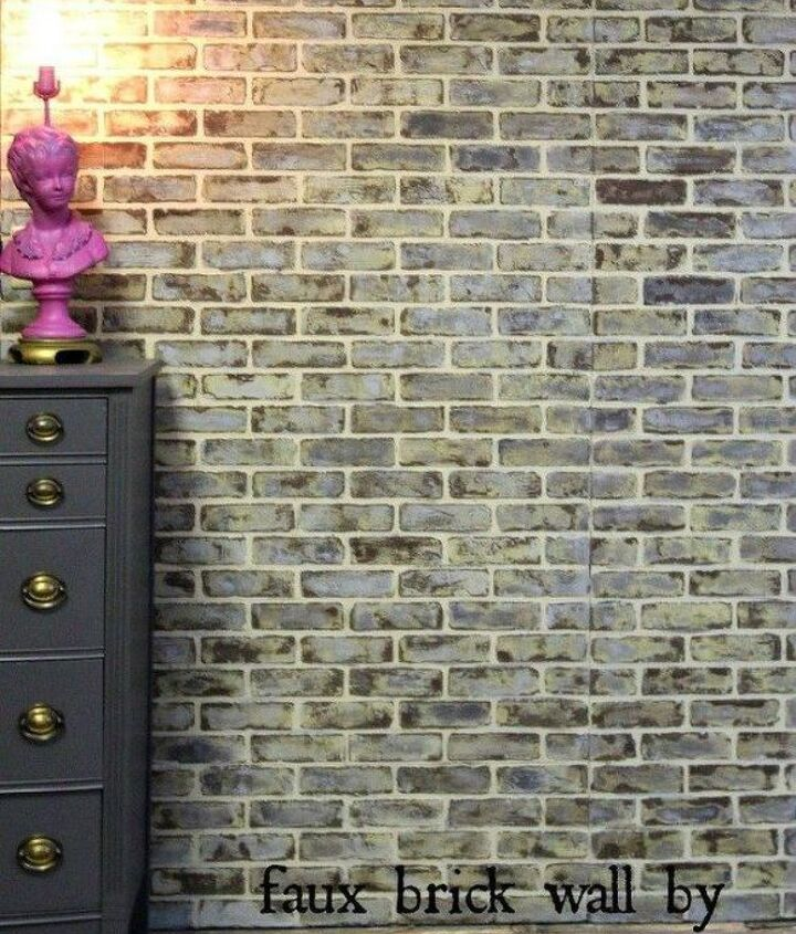 s 12 bedroom wall ideas you re so going to fall for, bedroom ideas, Install brick sheets for a natural look