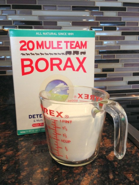 it s so much more than a laundry detergent borax crystals decor, home decor