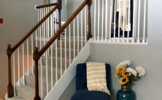 our stair railing makeover, stairs