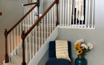 Our Stair Railing Makeover