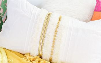 DIY Moroccan Inspired Pillow Makeover