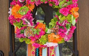 Spring Fiesta Wreath