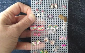 Organize All of Your Earring Studs With This Easy DIY