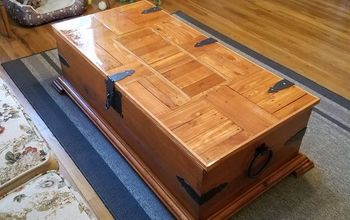 Coffee Table/chest  Makeover