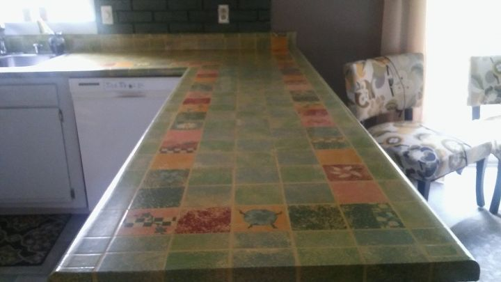e how i diy d my old formica countertop, countertops