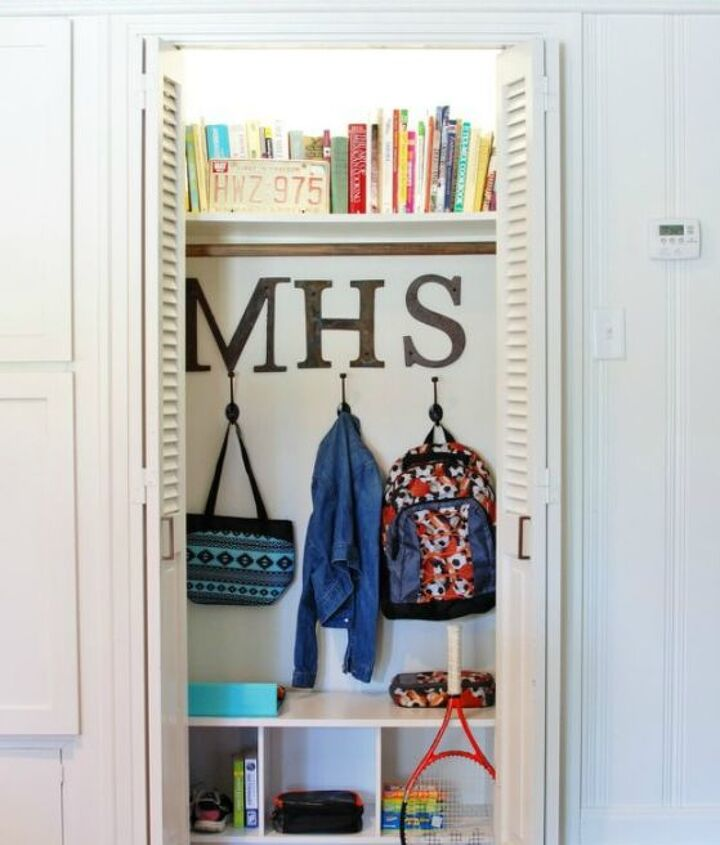 s these 13 closet improvements will make you smile, closet, Add some cubes to keep it all organized