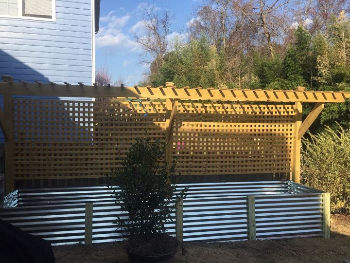 Lovely Raised Bed and Trellis | Hometalk UQ57