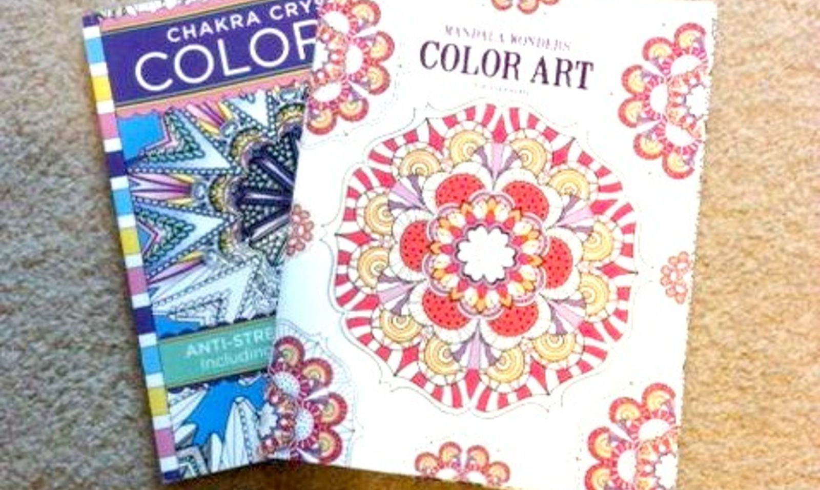 How To Fake High End Decor With Adult Coloring Books