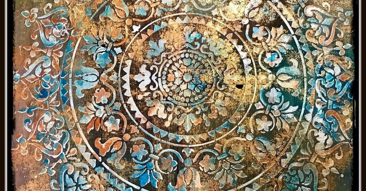 Mandala Rustic Wooden Wall Art Decor Hometalk