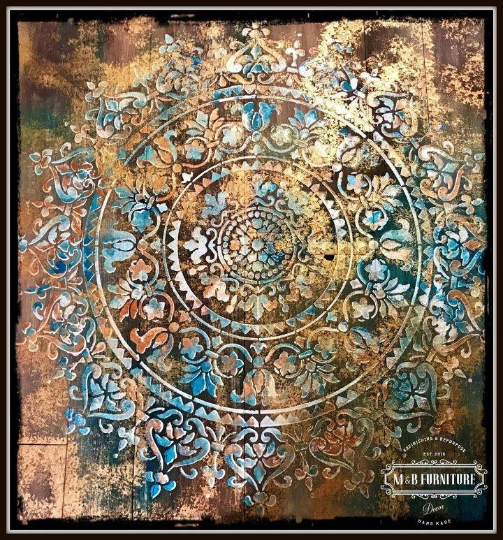 Mandala Rustic Wooden Wall Art Decor. | Hometalk