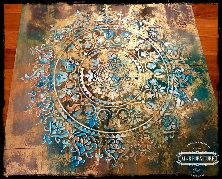 Mandala Rustic Wooden Wall Art Decor Hometalk