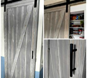 DIY Shiplap Barn Door for a Galley Kitchen Pantry Hometalk