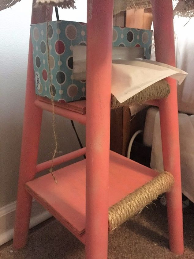 Stool Bedside Table: From Bar Stool To Bedside Table!