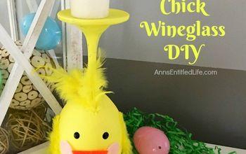 Chickie Wineglass  Decor